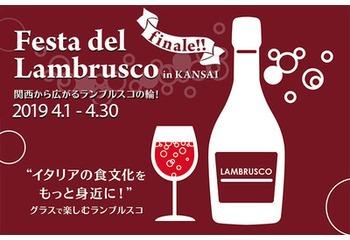 今年で最後!『Festa del Lambrusco 2019 Finale!』