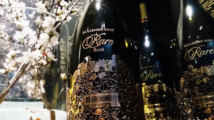 フィリップ・ミル 東京 開業2周年記念  第一弾ディナー企画 「Rare Champagne (Piper-Heidsieck) メーカーズディナー」