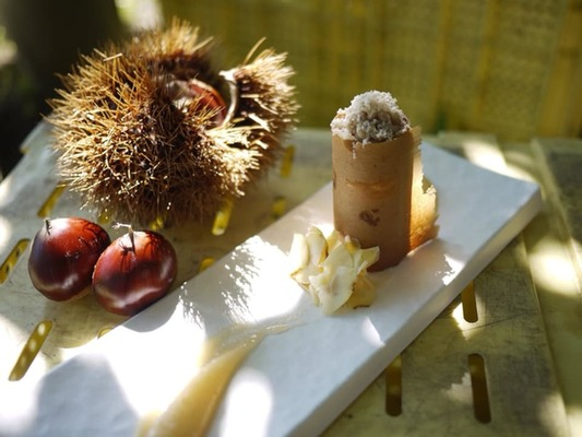 秋のAssiette Dessert × Dessert Wine