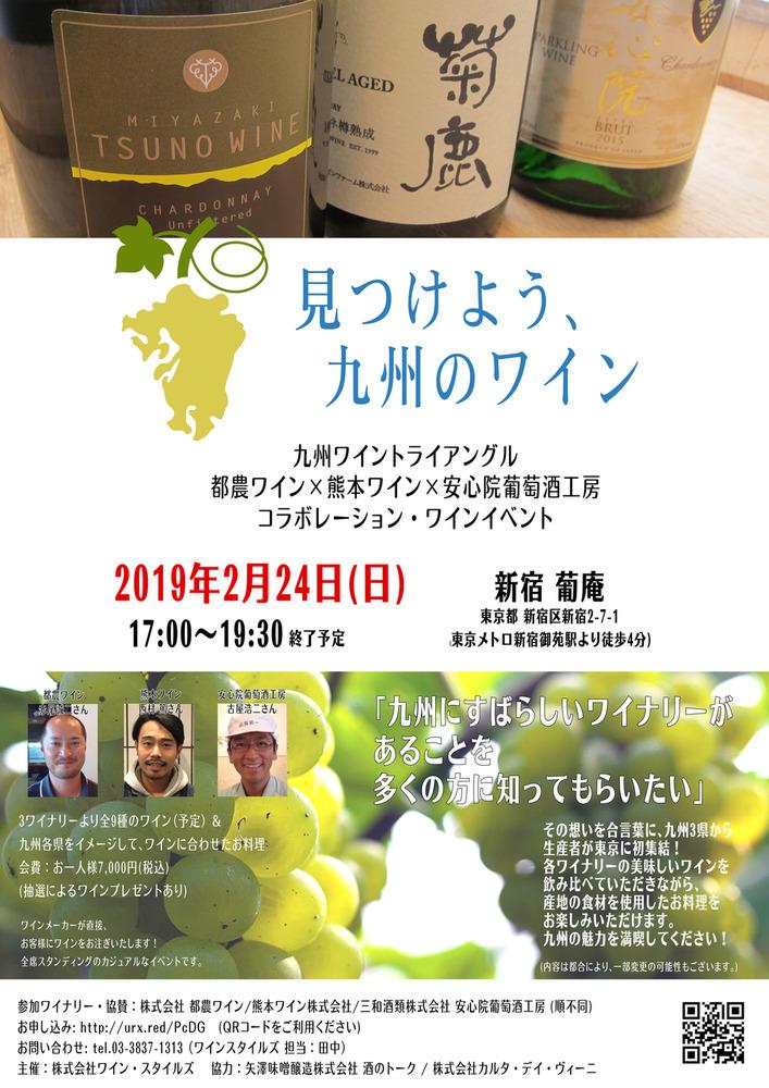 見つけよう、九州のワイン