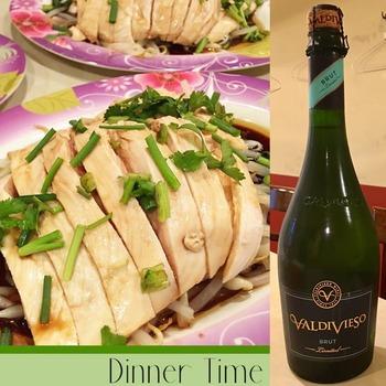 アジア料理とスパークリングワイン
