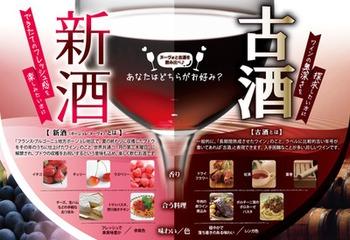 新酒&古酒飲み比べ!