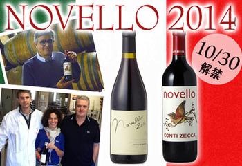 イタリア 新酒ノヴェッロ 2014 生育レポート 第四弾!!