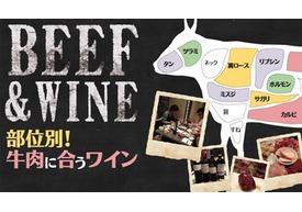 部位別!牛肉に合うワイン