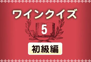 ワインクイズ【初級編】vol.5 ワイン造りについて