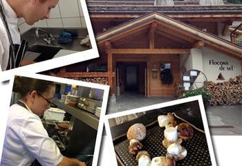 フランス3つ星レストラン『Flocons de sel』料理教室体験!? Vol.1