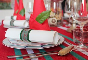 バスク・カラーがテーマのクリスマス!