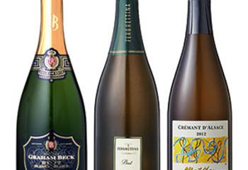 NIKKEIプラス1で選ばれたスパークリングワインを飲み比べてみました
