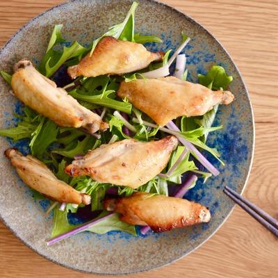 鶏スペアリブの梅味噌焼き