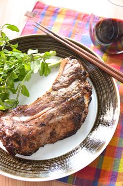 マグロのカマのオーブン焼き