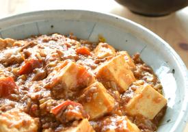 トマト麻婆豆腐