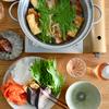 ブリとひらひら大根の梅胡椒鍋