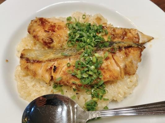 鮭の西京焼き風リゾット