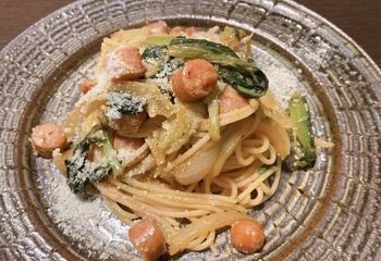 小松菜ナポリタン