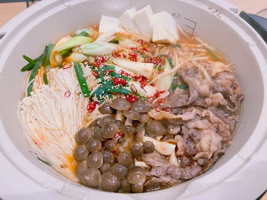 牛肉ピリ辛坦々鍋