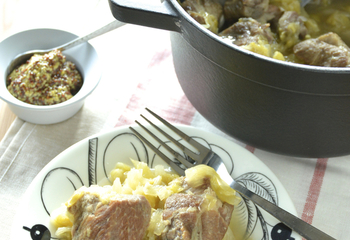 塩豚とキャベツのトロトロ煮込み