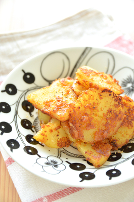 カリカリ味噌バターポテト
