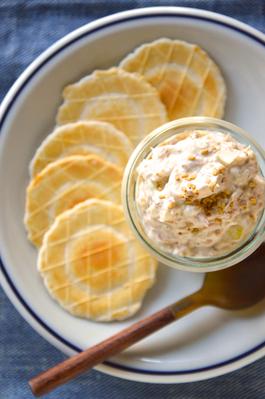 簡単レシピ!ツナ缶と胡麻サワークリームオニオンのディップ