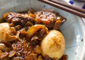 鶏肉のバルサミコ煮