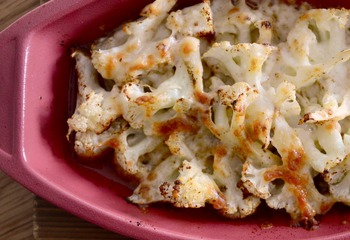 カリフラワーのスパイスチーズ焼き