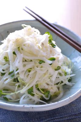 「大根とホタテのサラダ」ワインのおつまみレシピ