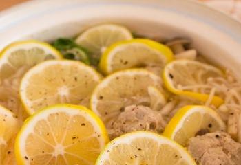エスニック風レモン鍋
