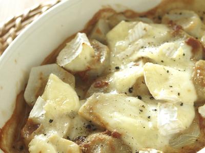 里芋の味噌カマンベールチーズ焼き